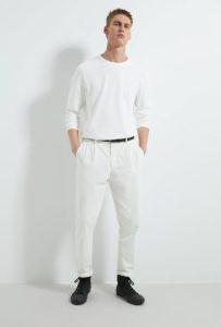 άσπρο παντελόνι