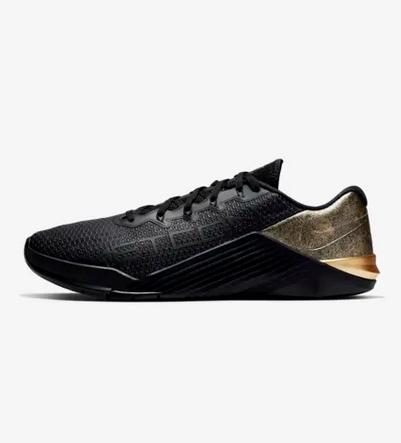 Nike αθλητικά μαύρο gold για τρέξιμο