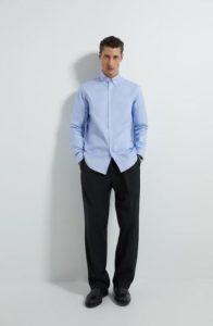 γαλάζιο πουκάμισο