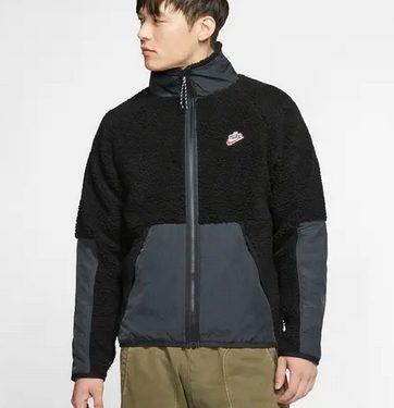jacket δίχρωμο μαύρο γκρι