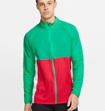 jacket ποδοσφαίρου πράσινο κόκκινο