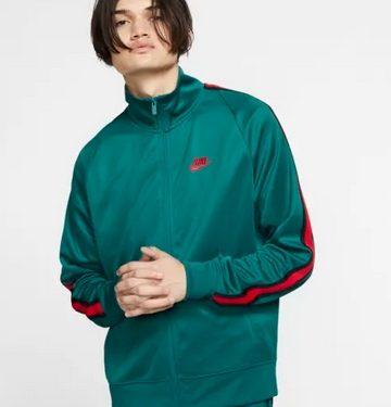 jacket πράσινο με κόκκινες ρίγες