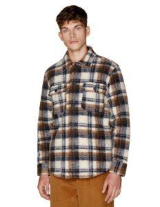 καρό μπουφάν ρούχα benetton χειμώνα