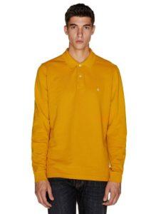 κίτρινο πόλο μπλουζάκι ρούχα Benetton χειμώνα