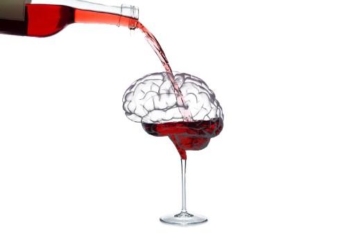κατανάλωση κόκκινου κρασιού βοηθά στη λειτουργία του εγκεφάλου
