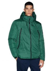 κοντό πράσινο μπουφάν