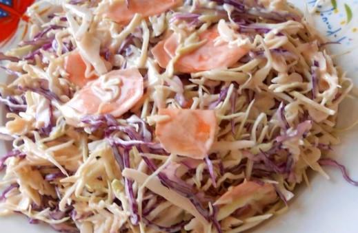 λαχανοσαλάτα με μαγιονέζα
