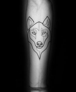 λύκος τατουάζ