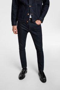 μπλε σκούρο jean