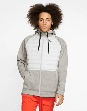 Μπλούζα με κουκούλα Nike φερμουάρ