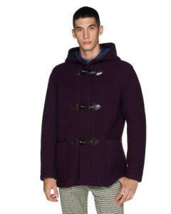 μπορντό μοντγκόμερι ρούχα benetton χειμώνα