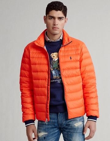 Μπουφάν πορτοκαλί casual