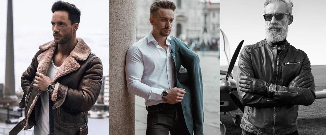 outfits για να συνδυάσεις με το αγαπημένο σου ρολόι τύπου πιλότου