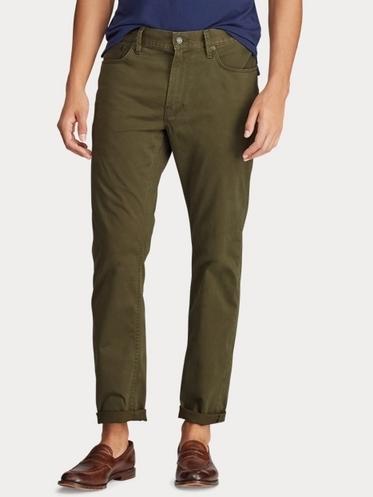 Παντελόνι πράσινο ελαστικό