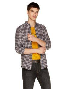 casual καρό πουκάμισο
