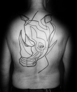 ρινόκερος τατουάζ