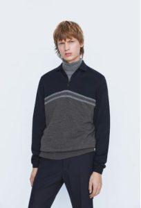 sweater με φερμουάρ