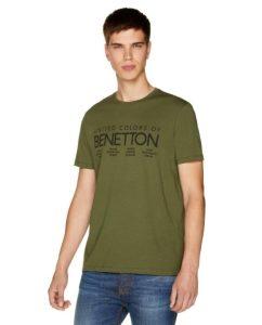 χακί t-shirt μπλουζάκι