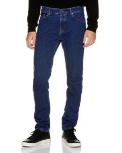 τζιν σκούρο μπλε παντελόνι πεντάτσεπο