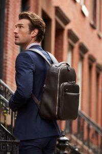 καφέ δερμάτινο backpack κοστούμι είδη τσάντας άντρας