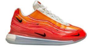 Nike πορτοκαλί αθλητικό χοντρή σόλα