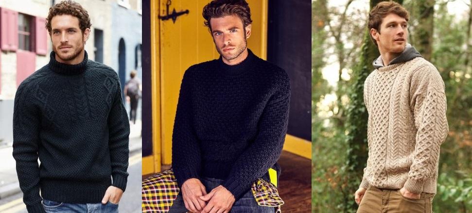 ανδρικά πλεκτά πουλόβερ