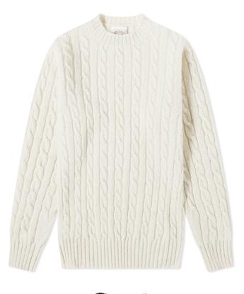 Χριστουγεννιάτικα πουλόβερ με πλεξίδες