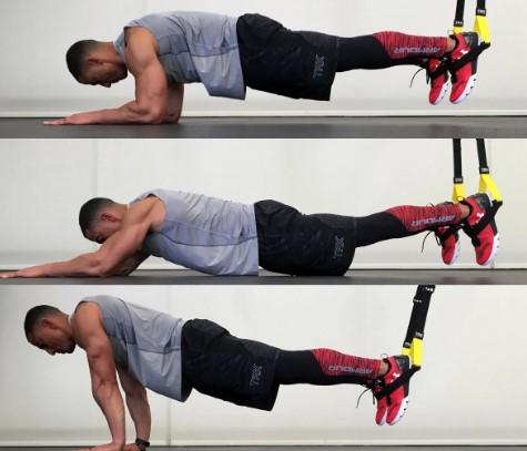 άσκηση 1: σανίδα με πιέσεις ώμων