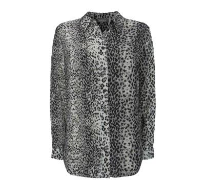 άνιμαλ πριντ πουκάμισο-δώρο για τη γυναίκα