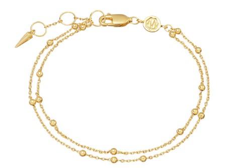 χρυσό βραχιόλι - δώρο για τη γυναίκα