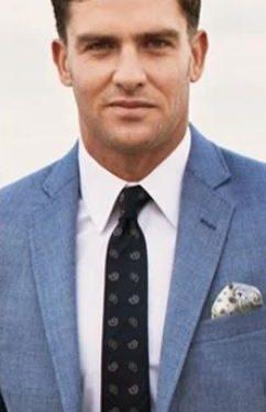 λευκό πουκάμισο γραβάτα με σχέδιο
