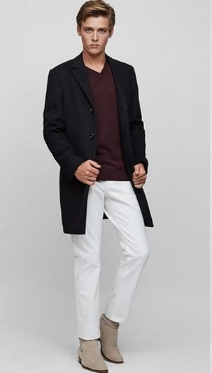 Μπλούζα κόκκινη μαύρο σακάκι