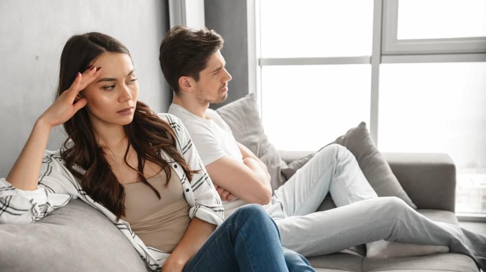 ζευγάρι με προβλήματα εξαιτίας τις πράξεις του άνδρα
