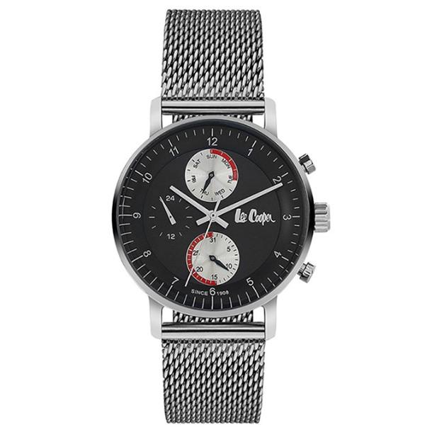 ρολόι για άνδρες ασημί μπρασελέ