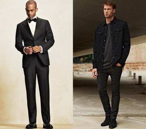 πως να συνδυάσεις τα μαύρα παπούτσια