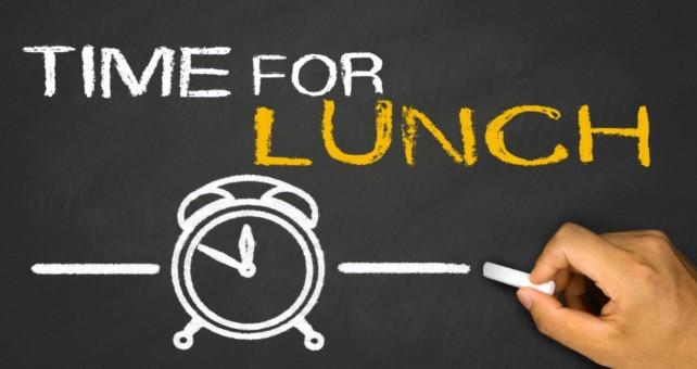 ρύθμισε την ώρα του μεσημεριανού σου