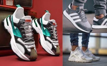 ανδρικά αθλητικά παπούτσια στη μόδα