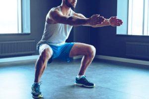 γυμναστική καθίσματα squats