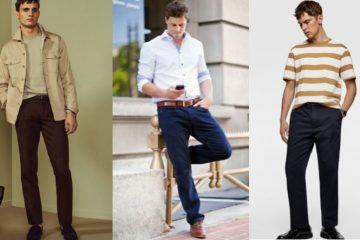 αντρικά ρούχα ανάλογα με το ύψος σου