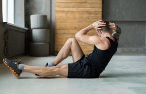 ασκήσεις γυμναστικής κοιλιακοί γράμμωση