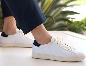 άσπρα minimal παπούτσια