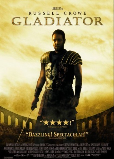 ταινια δράσης για κάθε άντρα, gladiator