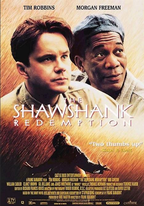 ταινία για άντρες, The Shawshank Redemption