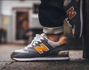 new balance sneakers αντρικά γκρι