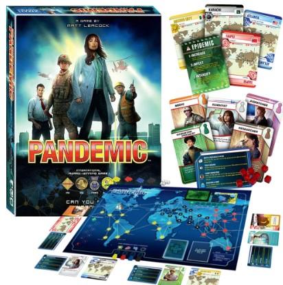 pandemic επιτραπέζιο παιχνίδι