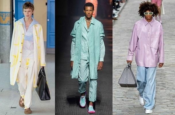 τάσεις μόδας ανδρικά ρούχα Άνοιξη Καλοκαίρι 2020