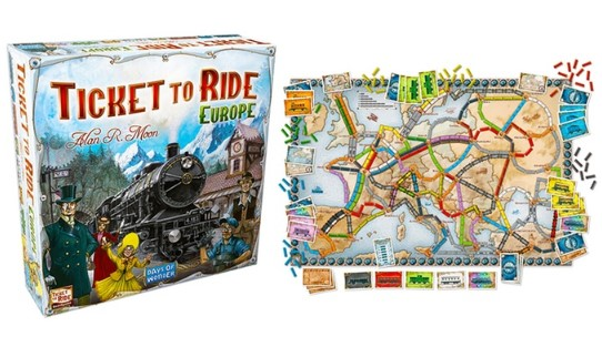 ticket to ride επιτραπέζιο παιχνίδι