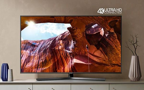 """Samsung 43"""" Smart LED 4K HDR UE43RU7402UXXH"""