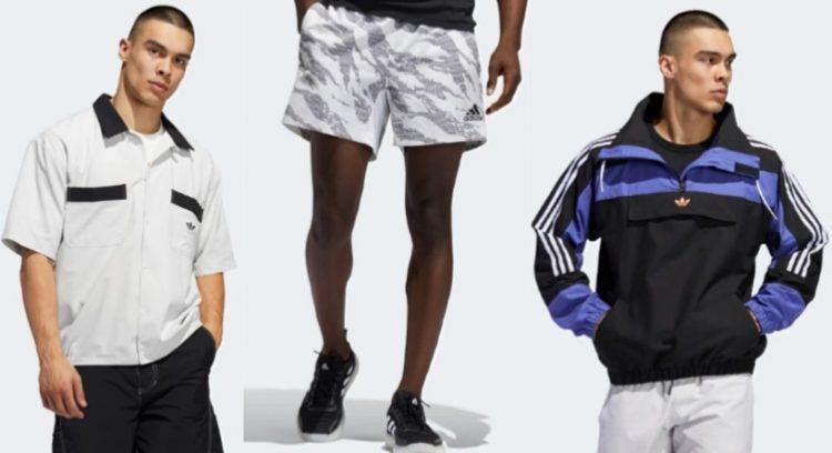 ανδρικά adidas ρούχα