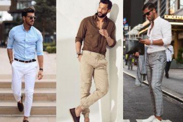 ανοιξιάτικοι αντρικοί συνδυασμού με πουκάμισο